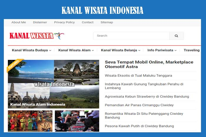 Blog Kanal Wisata Indonesia