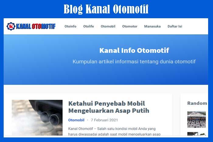 Blog Kanal Otomotif