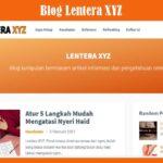 Blog Lentera XYZ