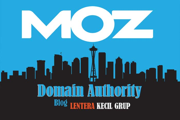 Hasil Moz Domain Authority Lentera Kecil Grup