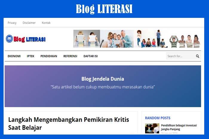 Blog Literasi