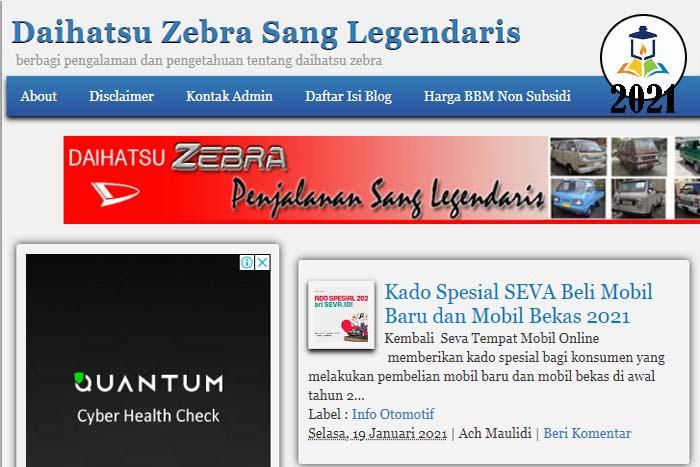 Blog Daihatsu Zebra