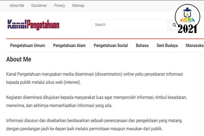 blog kanal pengetahuan Indonesia