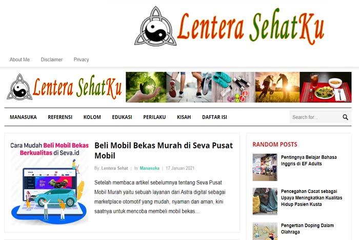 Blog Lentera Sehatku