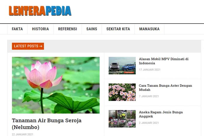 website lenterapedia