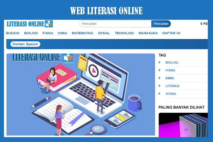 Website Literasi Online