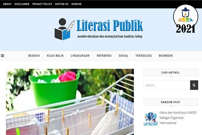 Website Literasi Publik
