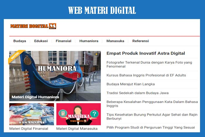 Website Materi Digital