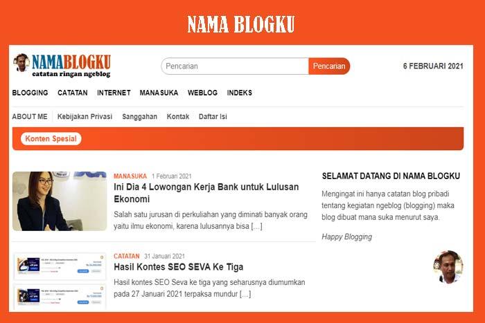 Nama Blogku